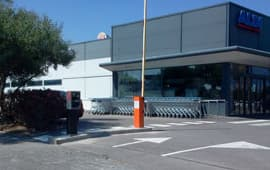 gestion parking entrada aldi