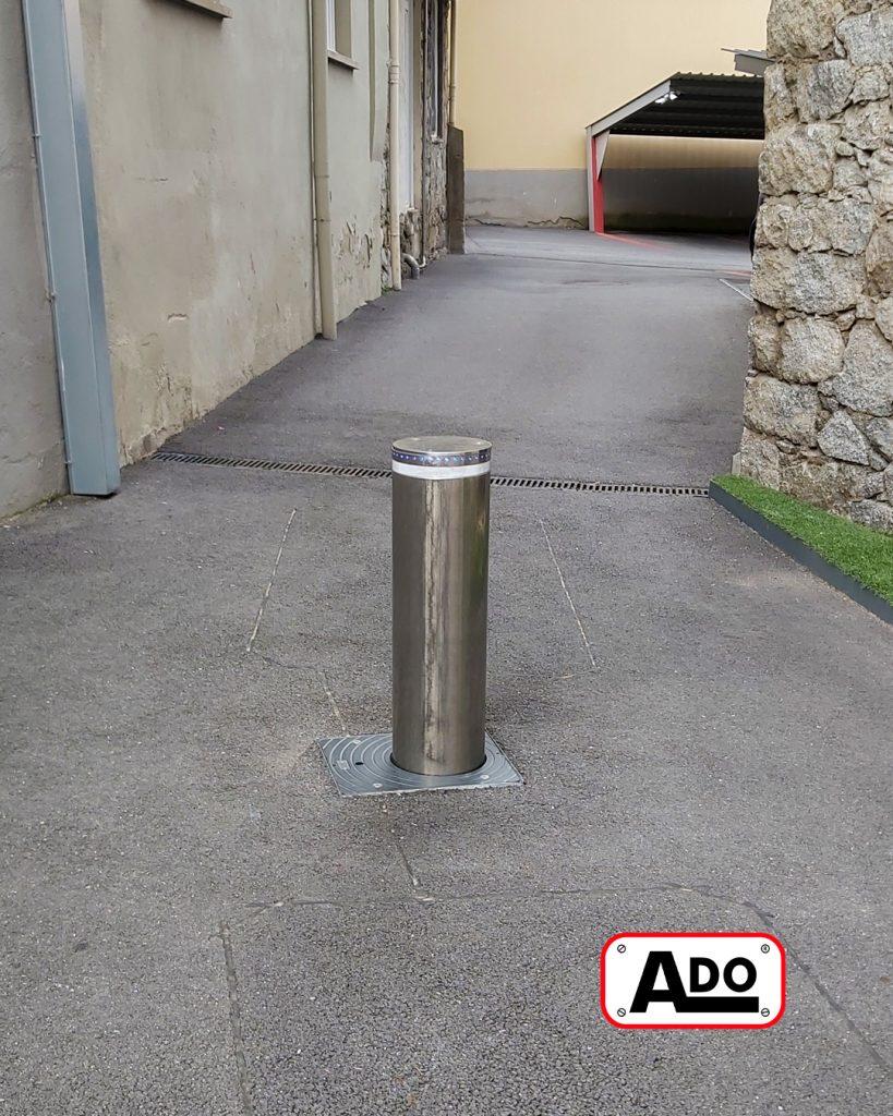 Sydney bollard installation in Andorra