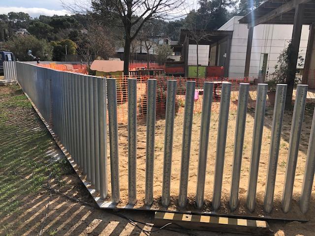 Fence Parc nursery school in valldoreix