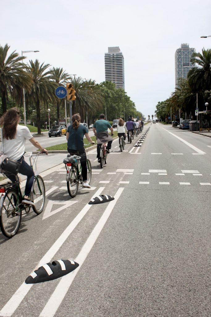New patented model Road lane separator Tigre