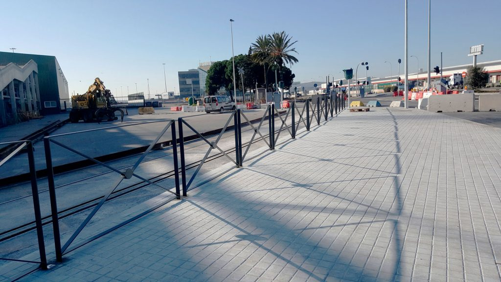Urban modular railing