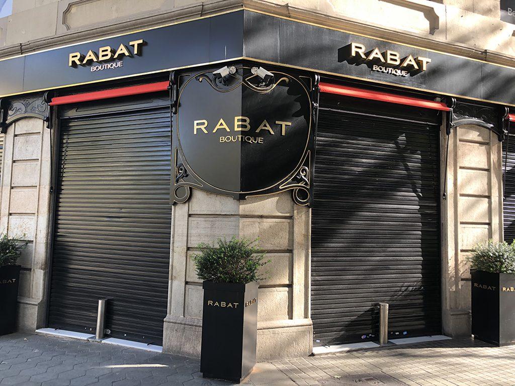 Sydney automatic bollards in Rabat jewelry