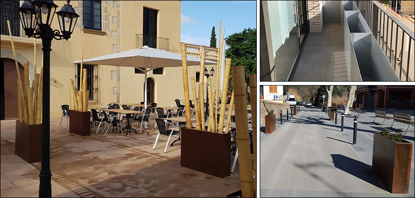 Jardinera Exterior Resta Para Bares Y Restaurantes