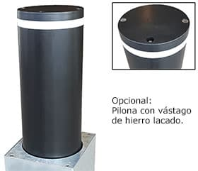 pilona london en hierro lacado